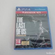 Videojuegos y Consolas PS4: THE LAST OF US REMASTERIZADO PS4 PLAYSTATION NUEVO NEW SELLADO SEALED. Lote 194102316