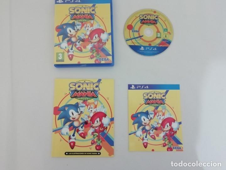 Videojuegos y Consolas PS4: Sonic Mania + Sonic Forces + Artbook PS4 PlayStation 4 COMO NUEVO - Foto 2 - 182332661