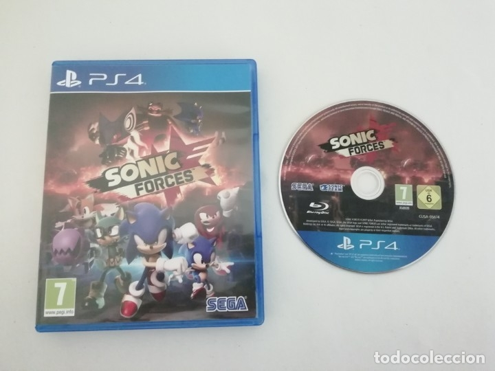 Videojuegos y Consolas PS4: Sonic Mania + Sonic Forces + Artbook PS4 PlayStation 4 COMO NUEVO - Foto 3 - 182332661