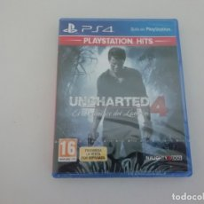 Videojuegos y Consolas PS4: UNCHARTED 4 PS4 PLAYSTATION NUEVO NEW SELLADO SEALED. Lote 182332673