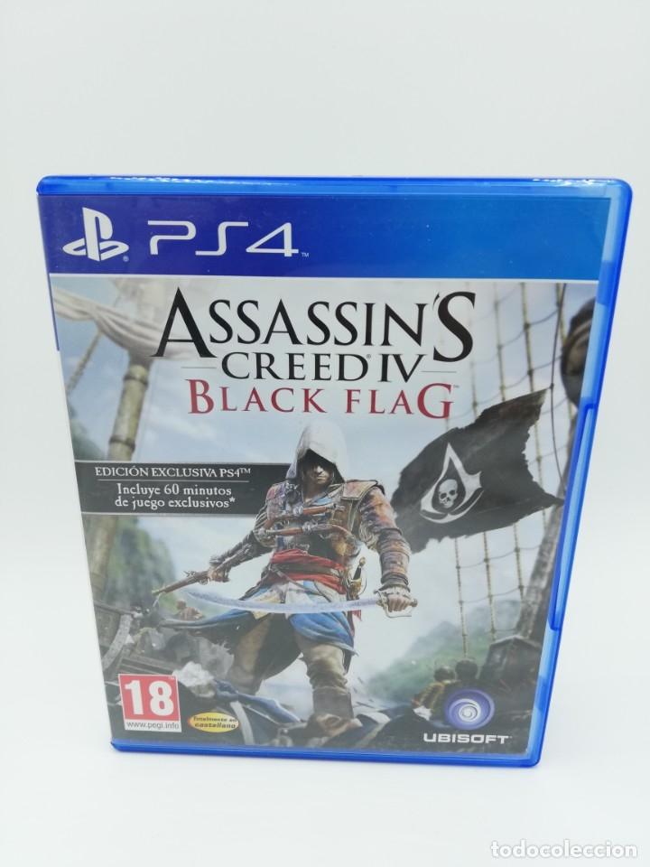 ASSASSINS CREED IV BLACK FLAG PS4 (Juguetes - Videojuegos y Consolas - Sony - PS4)