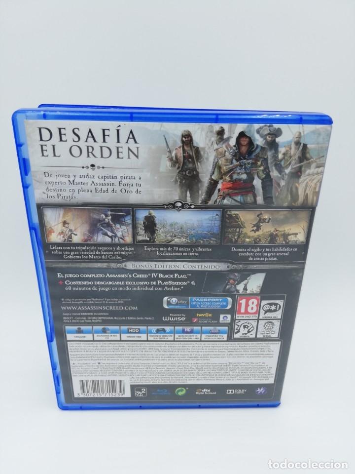 Videojuegos y Consolas PS4: ASSASSINS CREED IV BLACK FLAG PS4 - Foto 3 - 182674731
