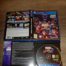Videojuegos y Consolas PS4: PS4 MARVEL VS CAPCOM INFINITE PAL ESP COMPLETO. Lote 183386190