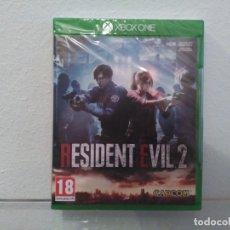 Videojuegos y Consolas PS4: RESIDENT EVIL 2 REMAKE - VIDEOJUEGO XBOX ONE A ESTRENAR (PAL ESP). Lote 183581260