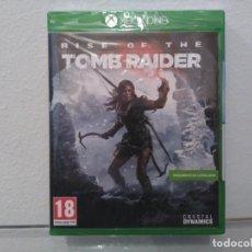 Videojuegos y Consolas PS4: RISE OF THE TOMB RAIDER - VIDEOJUEGO XBOX ONE A ESTRENAR (PAL ESP). Lote 183583102
