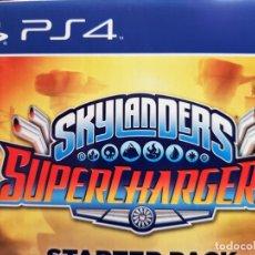 Videojuegos y Consolas PS4: SKYLANDERS SUPERCHARGERS. STARTER PACK PARA PS4. NUEVO. Lote 183733111