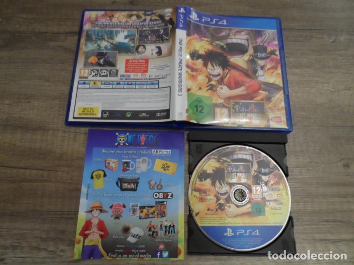 PS4 ONE PIECE PIRATE WARRIORS 3 PAL ESP COMPLETO (Juguetes - Videojuegos y Consolas - Sony - PS4)