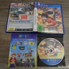 Videojuegos y Consolas PS4: PS4 ONE PIECE PIRATE WARRIORS 3 PAL ESP COMPLETO. Lote 184596218