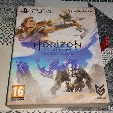 Videojuegos y Consolas PS4: HORIZON ZERO DAWN PS4 LIMITED EDITION PRECINTADO PAL ESPAÑA. Lote 186211005
