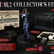 Videojuegos y Consolas PS4: LIQUIDACIÓN RESIDENT EVIL 2 COLLECTOR'S EDITION PS4 NUEVO PLAYSTATION LEON S. KENNEDY. Lote 190848811