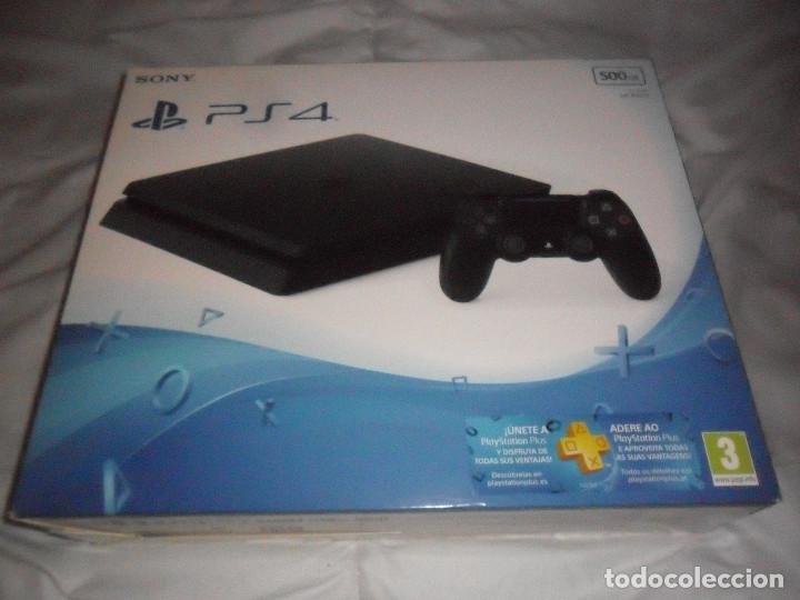 PS4 PLAY STATION 4 CAJA CONSOLA VACIA NUEVA (Juguetes - Videojuegos y Consolas - Sony - PS4)
