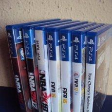 Videojuegos y Consolas PS4: (XA-200200)LOTE DE 7 VIDEO JUEGOS PS4. Lote 192659902