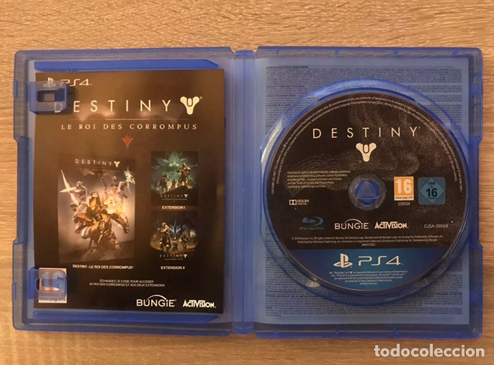 Videojuegos y Consolas PS4: Destiny El Rey De Los Poseídos Edition Legendaire PlayStation4 PS4 Completo - Foto 2 - 194086650