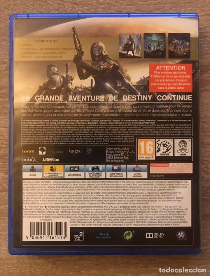 Videojuegos y Consolas PS4: Destiny El Rey De Los Poseídos Edition Legendaire PlayStation4 PS4 Completo - Foto 3 - 194086650