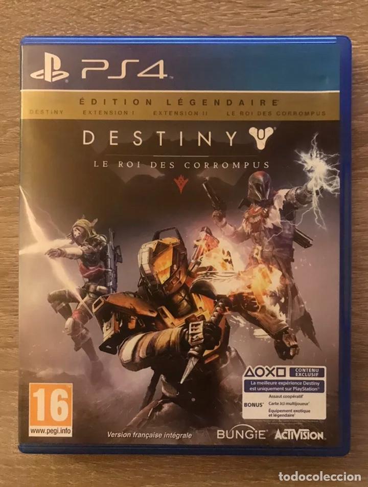DESTINY EL REY DE LOS POSEÍDOS EDITION LEGENDAIRE PLAYSTATION4 PS4 COMPLETO (Juguetes - Videojuegos y Consolas - Sony - PS4)