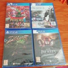 Videojuegos y Consolas PS4: LOTE DE JUEGOS DE PS4 TODOS PRECINTADOS. Lote 194296045