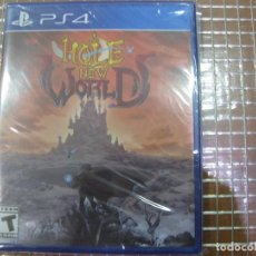 Videojuegos y Consolas PS4: PS4 LIMITED RUN GAMES #250: HOLE NEW WORLD NEW SEALED PLAYSTATION 4 SONY. Lote 195150022