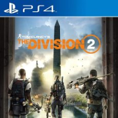 Videojuegos y Consolas PS4: THE DIVISION 2 TOM CLANCY VIDEO-JUEGO PLAYSTATION 4 PS4 PRECINTADO. Lote 195367953