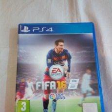 Videojuegos y Consolas PS4: 35-JUEGO PS4 FIFA 16, NO TIENE MANUAL. Lote 195379931