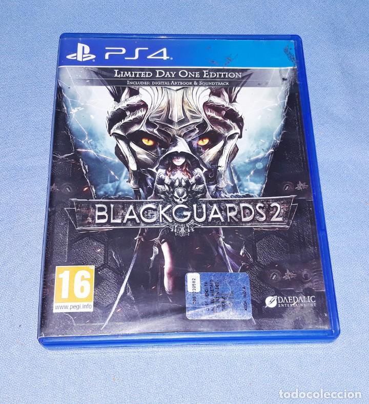 JUEGO PS4 BLACKGUARDS 2 EN MUY BUEN ESTADO ORIGINAL (Juguetes - Videojuegos y Consolas - Sony - PS4)