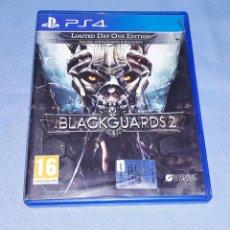 Videojuegos y Consolas PS4: JUEGO PS4 BLACKGUARDS 2 EN MUY BUEN ESTADO ORIGINAL. Lote 196775561