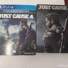 Videojuegos y Consolas PS4: STEELBOOK JUST CAUSE 4 PS4 (NO JUEGO). Lote 198223072