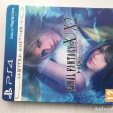 Jeux Vidéo et Consoles: FINAL FANTASY X X-3 HD REMASTER LIMITED EDITION STEELBOOK PS4 PLAYSTATION 4 PLAY STATION 4 KREATEN. Lote 198932520