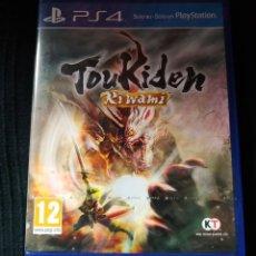 Videojuegos y Consolas PS4: TOUKIDEN KIWAMI PLAYSTATION 4 PAL ESPAÑA. Lote 201739051