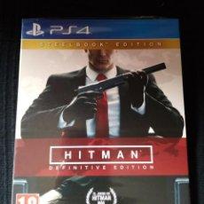 Videojuegos y Consolas PS4: HITMAN DEFINITIVE EDITION DAY ONE PLAYSTATION 4 PAL ESPAÑA. Lote 201739365