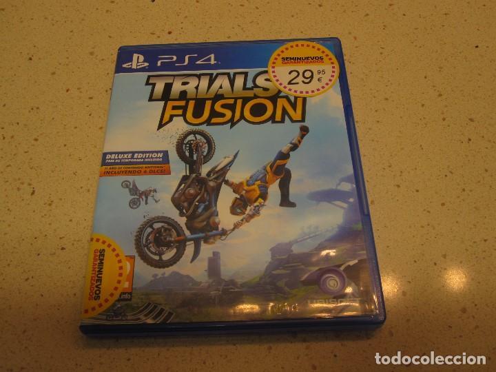 TRIALS FUSION JUEGO PS4 BUEN ESTADO (Juguetes - Videojuegos y Consolas - Sony - PS4)