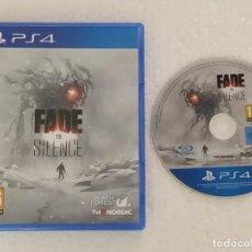 Videojuegos y Consolas PS4: FADE TO SILENCE PLAYSTATION 4 PAL ESPAÑA. Lote 203788573