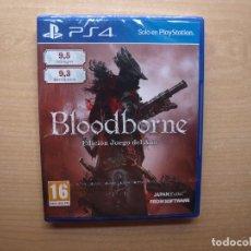 Videojuegos y Consolas PS4: BLOODBORNE - EDICION JUEGO DEL AÑO - PRECINTADO - SIN ABRIR. Lote 205364201