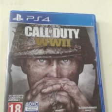 Videojuegos y Consolas PS4: CALL OF DUTY: WWII. PS4. Lote 205366021