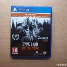 Videojuegos y Consolas PS4: DYING LIGHT - THE FOLLOWING - NUEVO. Lote 205367162