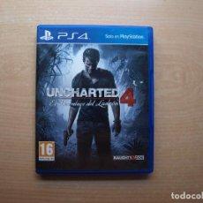 Videojuegos y Consolas PS4: UNCHARTED 4 - EL DESENLACE DEL LADRON - NUEVO. Lote 205367672
