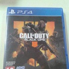 Videojuegos y Consolas PS4: CALL OF DUTY: BLACK OPS 4 (PS4). Lote 205375845
