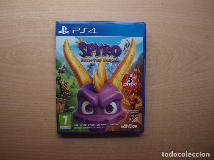 SPYRO RELGNITED TRILOGY - NUEVO (Juguetes - Videojuegos y Consolas - Sony - PS4)