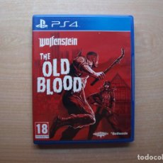 Videojuegos y Consolas PS4: WOLFENSTEIN THE OLD BLOOD - NUEVO. Lote 205439002
