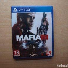 Videojuegos y Consolas PS4: MAFIA III - NUEVO. Lote 205439190