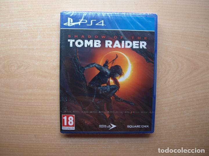 SHADOW OF THE TOMB RAIDER - PRECINTADA - SIN USAR (Juguetes - Videojuegos y Consolas - Sony - PS4)