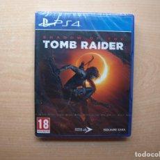 Videojuegos y Consolas PS4: SHADOW OF THE TOMB RAIDER - PRECINTADA - SIN USAR. Lote 205442257