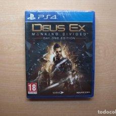 Videojuegos y Consolas PS4: DEUS EX MANKIND DIVIDED DAY ONE EDITION - PRECINTADA - SIN USAR. Lote 205442493