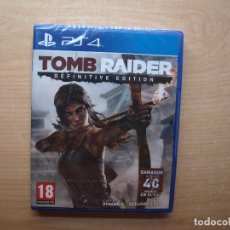 Videojuegos y Consolas PS4: TOMB RAIDER DEFINITIVE EDITION - PRECINTADA - SIN USAR. Lote 205442958
