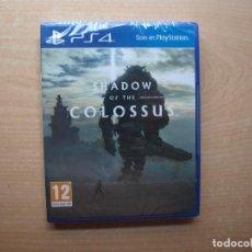 Videojuegos y Consolas PS4: SHADOW OF THE COLOSSUS - PRECINTADA - SIN USAR. Lote 205447315