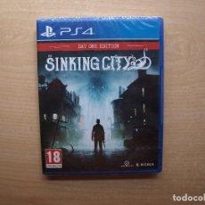 Videojuegos y Consolas PS4: THE SINKING CITY DAY ONE EDITION - PRECINTADA - SIN USAR. Lote 205449381