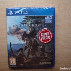 Videojuegos y Consolas PS4: MONSTER HUNTER : WORLD - PRECINTADA - SIN USAR. Lote 205449665