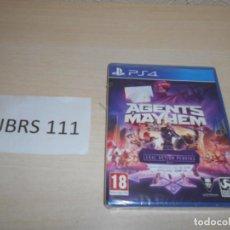Videojuegos y Consolas PS4: PS4 - AGENTS MAYHEM , PAL ESPAÑOL , PRECINTADO. Lote 205688533
