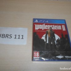 Videojuegos y Consolas PS4: PS4 - WOLFENSTEIN II - THE NEW COLOSSUS , PAL ESPAÑOL , PRECINTADO. Lote 205688752