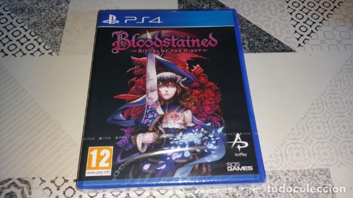 BLOODSTAINED RITUAL OF THE NIGHT PS4 PAL ESPAÑA PRECINTADO KOJI IGARASHI (Juguetes - Videojuegos y Consolas - Sony - PS4)
