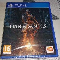 Videojuegos y Consolas PS4: DARK SOULS REMASTERED + DLC ARTORIAS OF THE ABYSS PS4 PAL ESPAÑA PRECINTADO. Lote 205849727